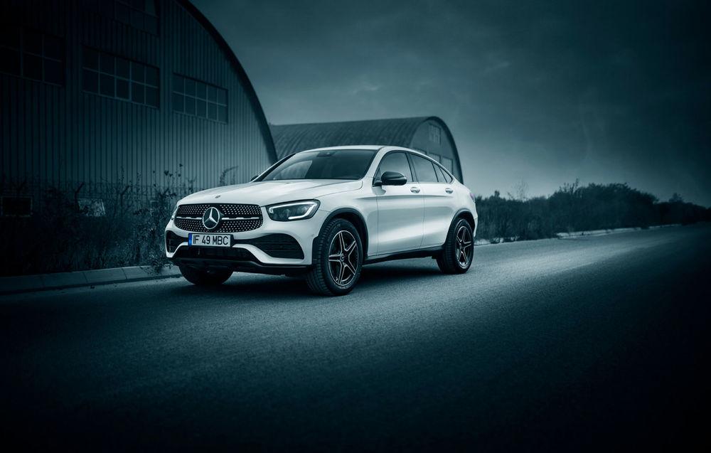 Test drive Mercedes-Benz GLC Coupe facelift