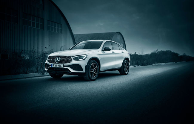 Test drive Mercedes-Benz GLC Coupe facelift