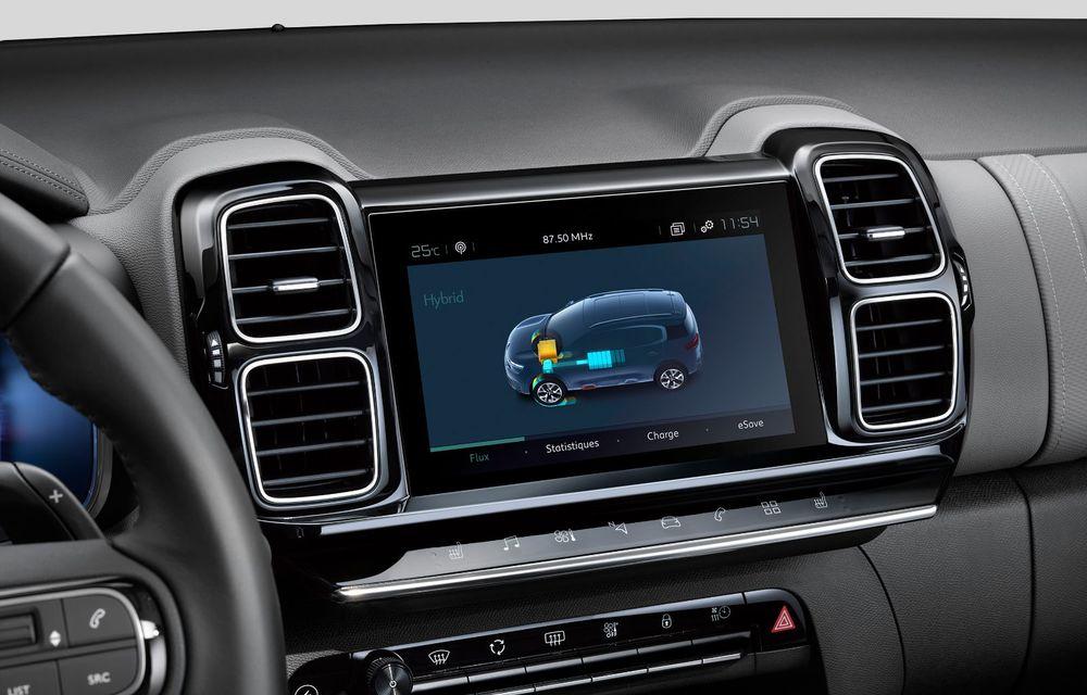 Citroen C5 Aircross Hybrid: versiunea plug-in hybrid a SUV-ului are 225 de cai putere și autonomie electrică de 50 de kilometri - Poza 30