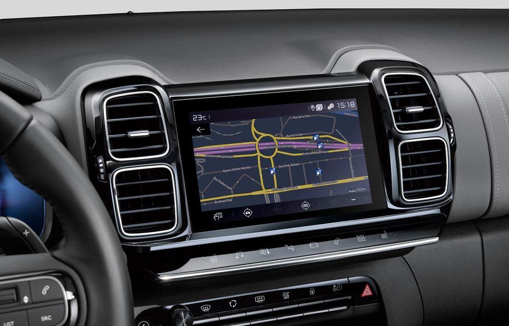 Citroen C5 Aircross Hybrid: versiunea plug-in hybrid a SUV-ului are 225 de cai putere și autonomie electrică de 50 de kilometri - Poza 27