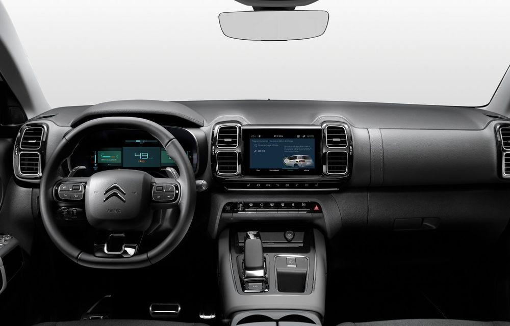 Citroen C5 Aircross Hybrid: versiunea plug-in hybrid a SUV-ului are 225 de cai putere și autonomie electrică de 50 de kilometri - Poza 19