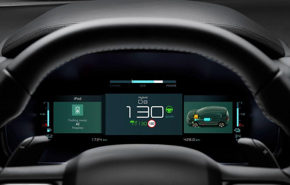 Citroen C5 Aircross Hybrid: versiunea plug-in hybrid a SUV-ului are 225 de cai putere și autonomie electrică de 50 de kilometri - Poza 25