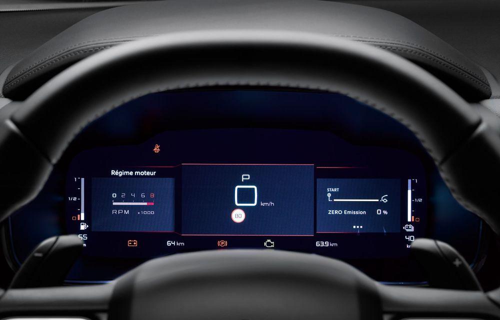 Citroen C5 Aircross Hybrid: versiunea plug-in hybrid a SUV-ului are 225 de cai putere și autonomie electrică de 50 de kilometri - Poza 20