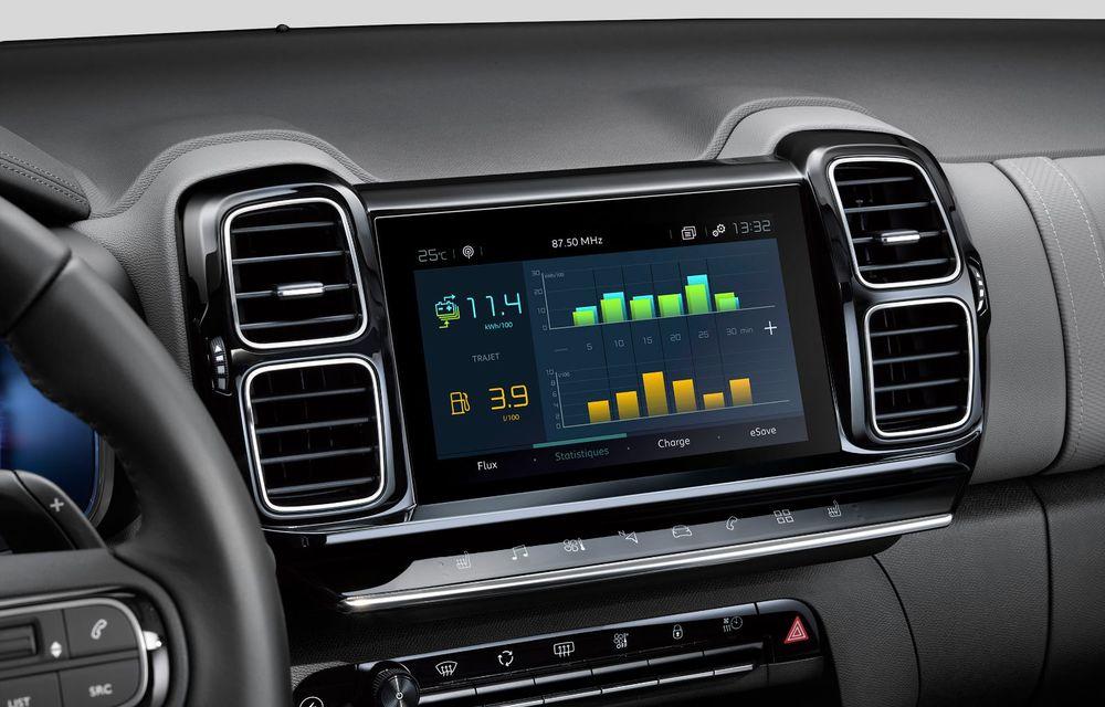 Citroen C5 Aircross Hybrid: versiunea plug-in hybrid a SUV-ului are 225 de cai putere și autonomie electrică de 50 de kilometri - Poza 31