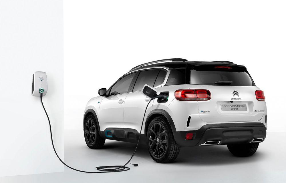 Citroen C5 Aircross Hybrid: versiunea plug-in hybrid a SUV-ului are 225 de cai putere și autonomie electrică de 50 de kilometri - Poza 10