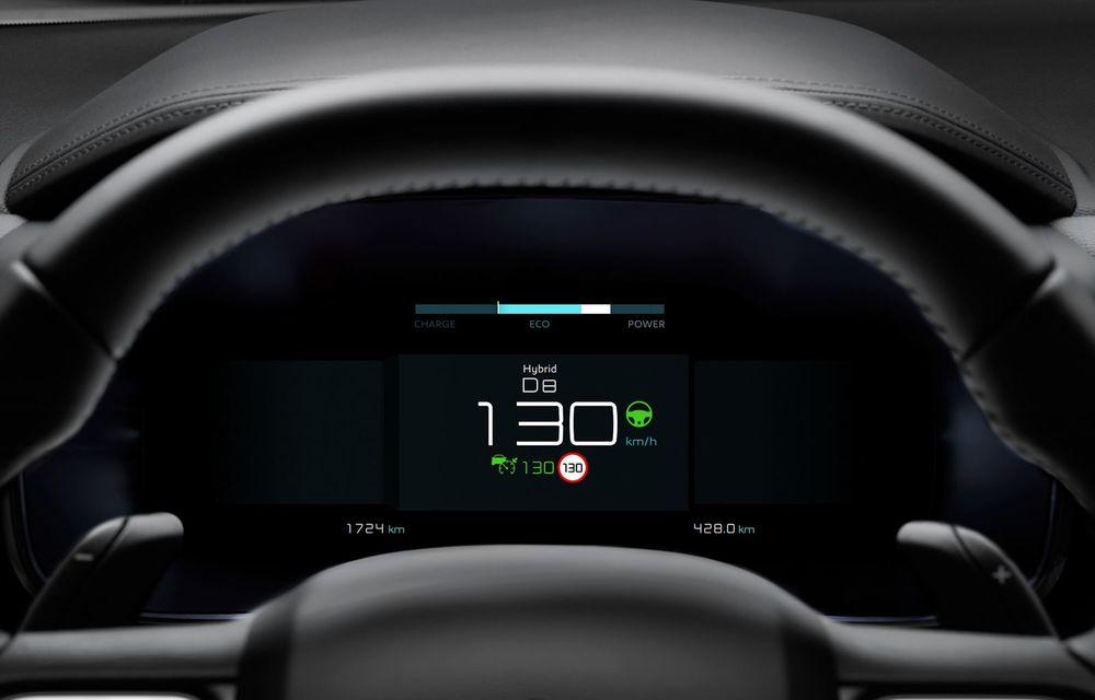 Citroen C5 Aircross Hybrid: versiunea plug-in hybrid a SUV-ului are 225 de cai putere și autonomie electrică de 50 de kilometri - Poza 23