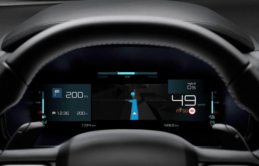 Citroen C5 Aircross Hybrid: versiunea plug-in hybrid a SUV-ului are 225 de cai putere și autonomie electrică de 50 de kilometri - Poza 24