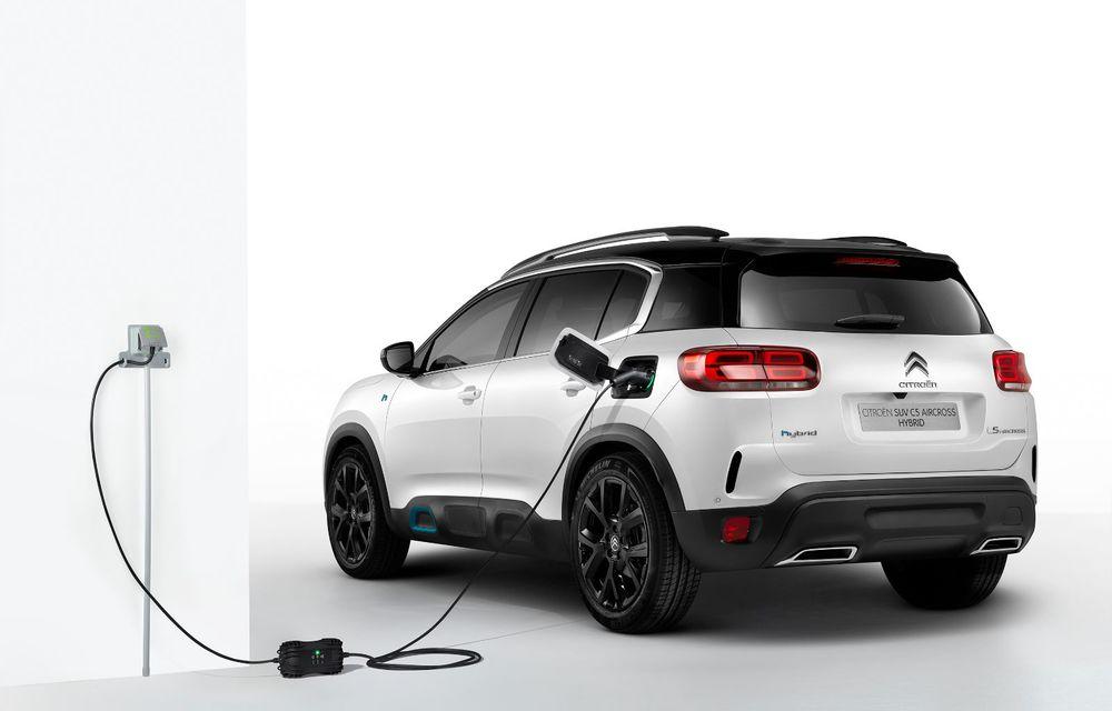 Citroen C5 Aircross Hybrid: versiunea plug-in hybrid a SUV-ului are 225 de cai putere și autonomie electrică de 50 de kilometri - Poza 9