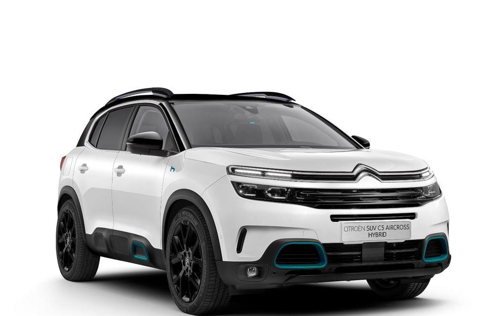 Citroen C5 Aircross Hybrid: versiunea plug-in hybrid a SUV-ului are 225 de cai putere și autonomie electrică de 50 de kilometri - Poza 6