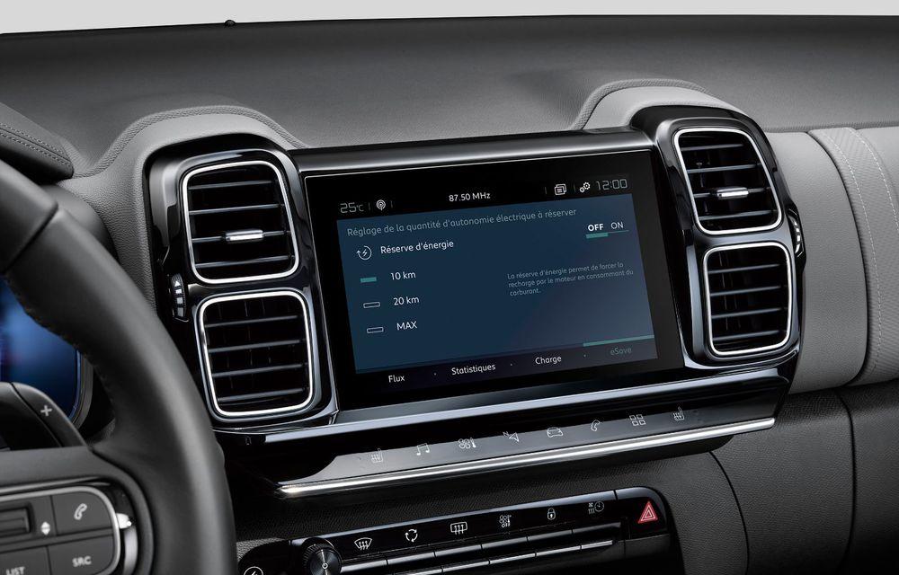 Citroen C5 Aircross Hybrid: versiunea plug-in hybrid a SUV-ului are 225 de cai putere și autonomie electrică de 50 de kilometri - Poza 29