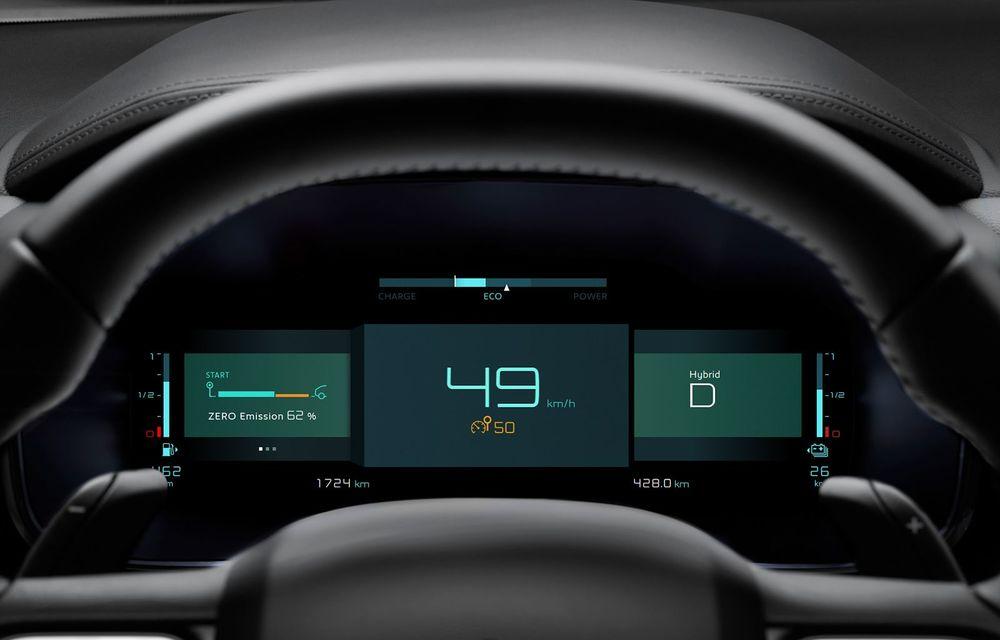 Citroen C5 Aircross Hybrid: versiunea plug-in hybrid a SUV-ului are 225 de cai putere și autonomie electrică de 50 de kilometri - Poza 21