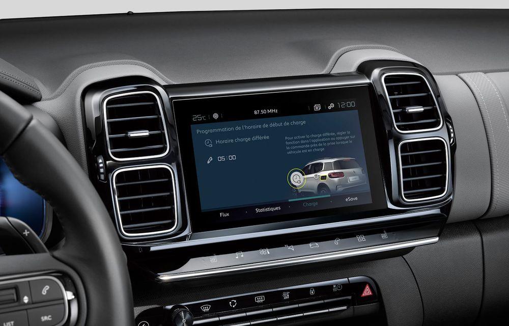 Citroen C5 Aircross Hybrid: versiunea plug-in hybrid a SUV-ului are 225 de cai putere și autonomie electrică de 50 de kilometri - Poza 28