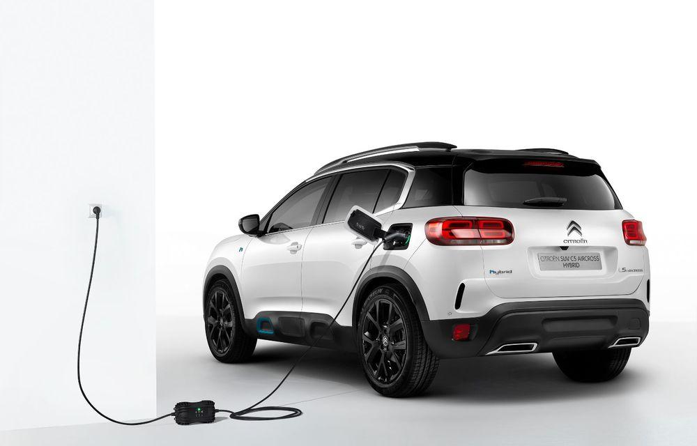 Citroen C5 Aircross Hybrid: versiunea plug-in hybrid a SUV-ului are 225 de cai putere și autonomie electrică de 50 de kilometri - Poza 8