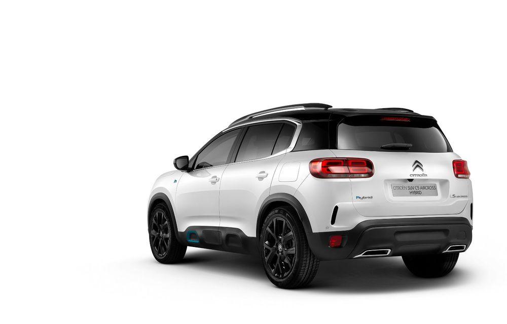 Citroen C5 Aircross Hybrid: versiunea plug-in hybrid a SUV-ului are 225 de cai putere și autonomie electrică de 50 de kilometri - Poza 7