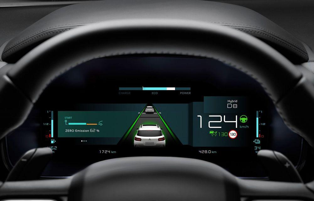 Citroen C5 Aircross Hybrid: versiunea plug-in hybrid a SUV-ului are 225 de cai putere și autonomie electrică de 50 de kilometri - Poza 22