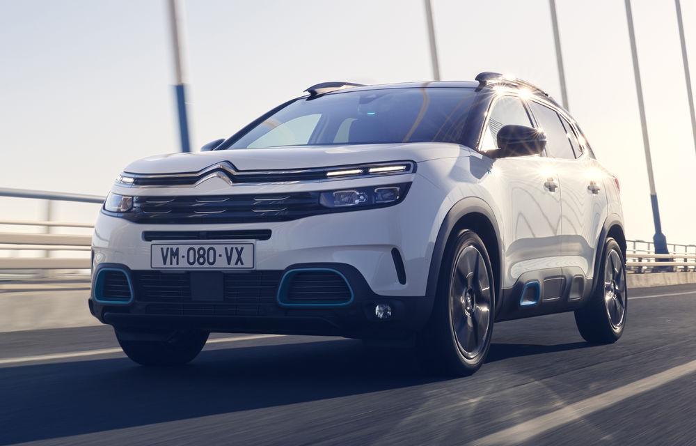 Citroen C5 Aircross Hybrid: versiunea plug-in hybrid a SUV-ului are 225 de cai putere și autonomie electrică de 50 de kilometri - Poza 1