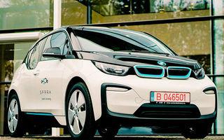 Noutăți la serviciul de car-sharing Spark: BMW i3 a fost inclus în gama de modele, iar prețurile au fost micșorate pentru luna noiembrie