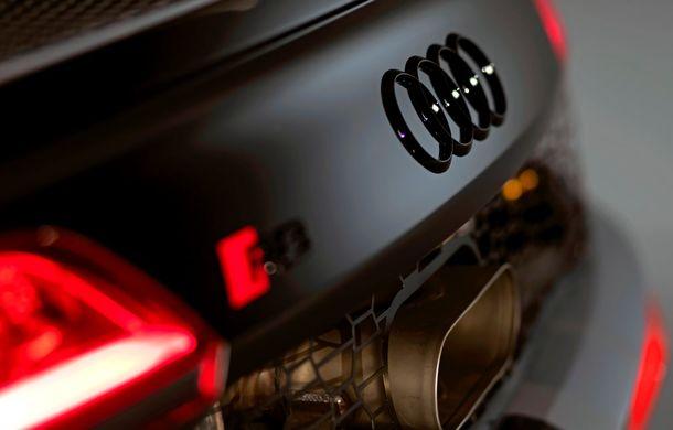 Audi a prezentat noua versiune R8 LMS GT4: versiunea de circuit oferă 495 CP și roți motrice spate - Poza 28