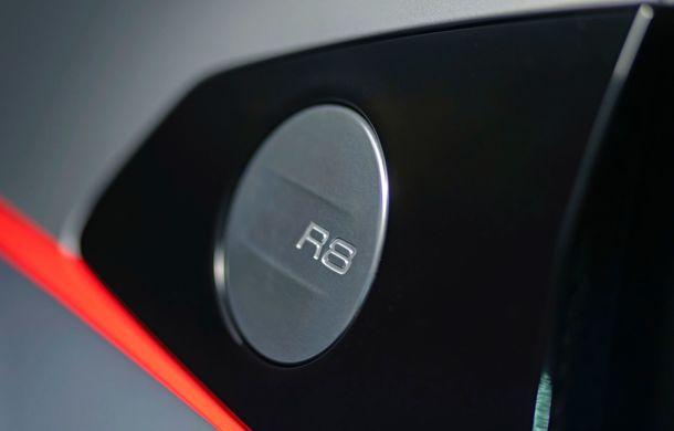 Audi a prezentat noua versiune R8 LMS GT4: versiunea de circuit oferă 495 CP și roți motrice spate - Poza 25