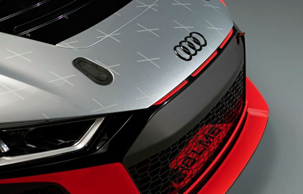 Audi a prezentat noua versiune R8 LMS GT4: versiunea de circuit oferă 495 CP și roți motrice spate - Poza 30