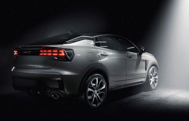 Lynk&Co publică primele imagini cu un nou model: constructorul chinez ar putea prezenta în curând un SUV coupe - Poza 1