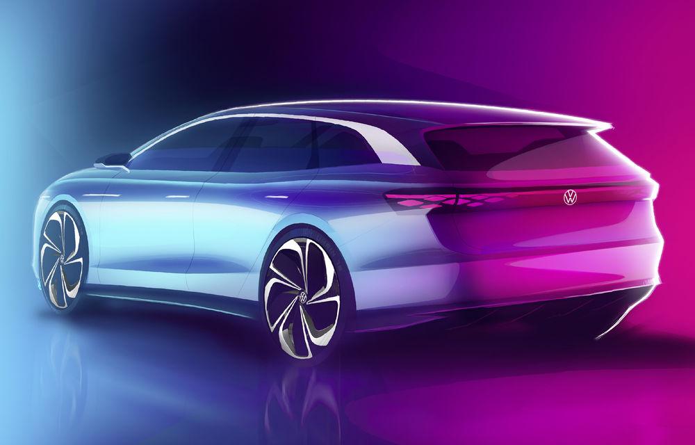 Volkswagen anunță un nou concept electric: ID Space Vizzion este un break cu autonomie de 590 de kilometri care va fi prezentat în 19 noiembrie - Poza 3