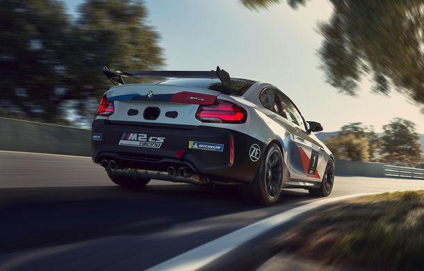 BMW a prezentat M2 CS Racing: versiunea de circuit adresată piloților amatori oferă până la 365 CP - Poza 2