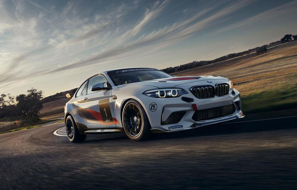 BMW a prezentat M2 CS Racing: versiunea de circuit adresată piloților amatori oferă până la 365 CP - Poza 1
