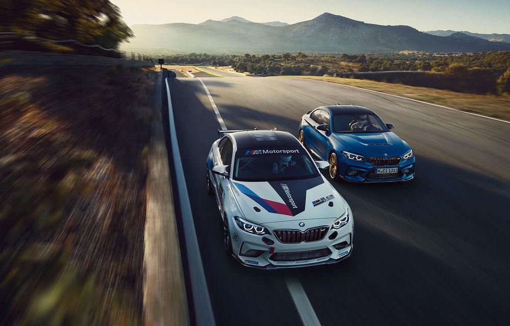 BMW a prezentat M2 CS Racing: versiunea de circuit adresată piloților amatori oferă până la 365 CP - Poza 3