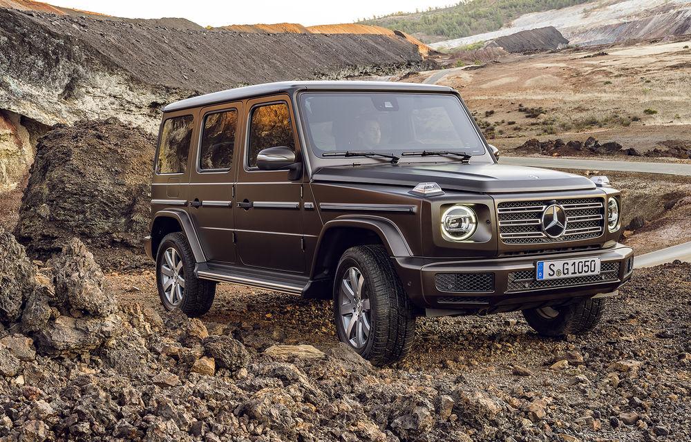 """Șeful Daimler: """"Mercedes Clasa G va avea o versiune electrică"""" - Poza 1"""