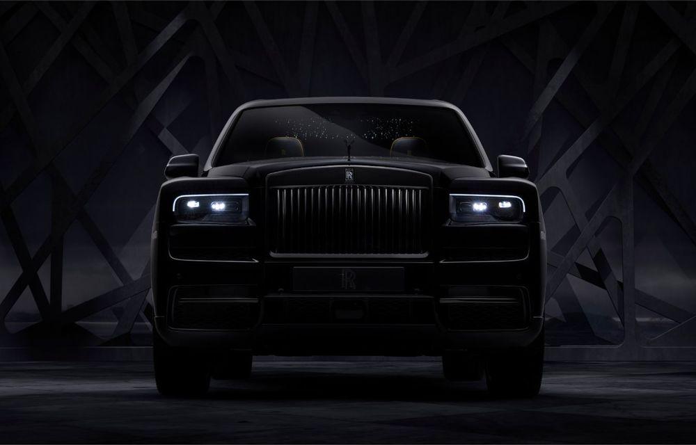 Rolls-Royce a lansat Cullinan Black Badge: modificări estetice și motor V12 cu 600 CP pentru cel mai scump SUV de serie - Poza 3