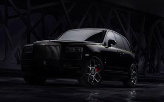 Rolls-Royce a lansat Cullinan Black Badge: modificări estetice și motor V12 cu 600 CP pentru cel mai scump SUV de serie