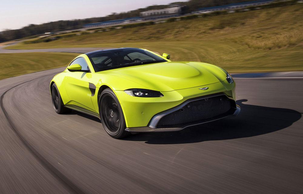 Vânzări slabe pentru Aston Martin Vantage: britanicii au raportat pierderi de 100 de milioane de euro în 2019 - Poza 1