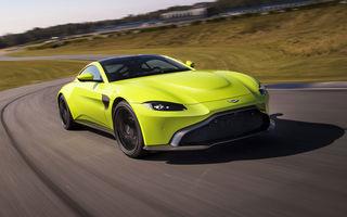 Vânzări slabe pentru Aston Martin Vantage: britanicii au raportat pierderi de 100 de milioane de euro în 2019