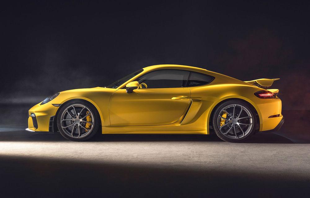 Viitoarele generații Porsche 718 Cayman și 718 Boxster vor avea versiuni electrice: până la 400 CP și versiuni cu roți motrice spate sau tracțiune integrală - Poza 1