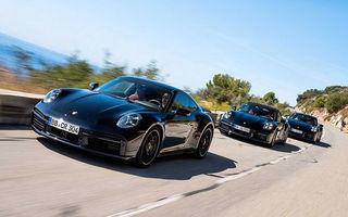 Primele imagini oficiale cu viitorul Porsche 911 Turbo: motorul de 3.8 litri ar putea oferi peste 600 CP