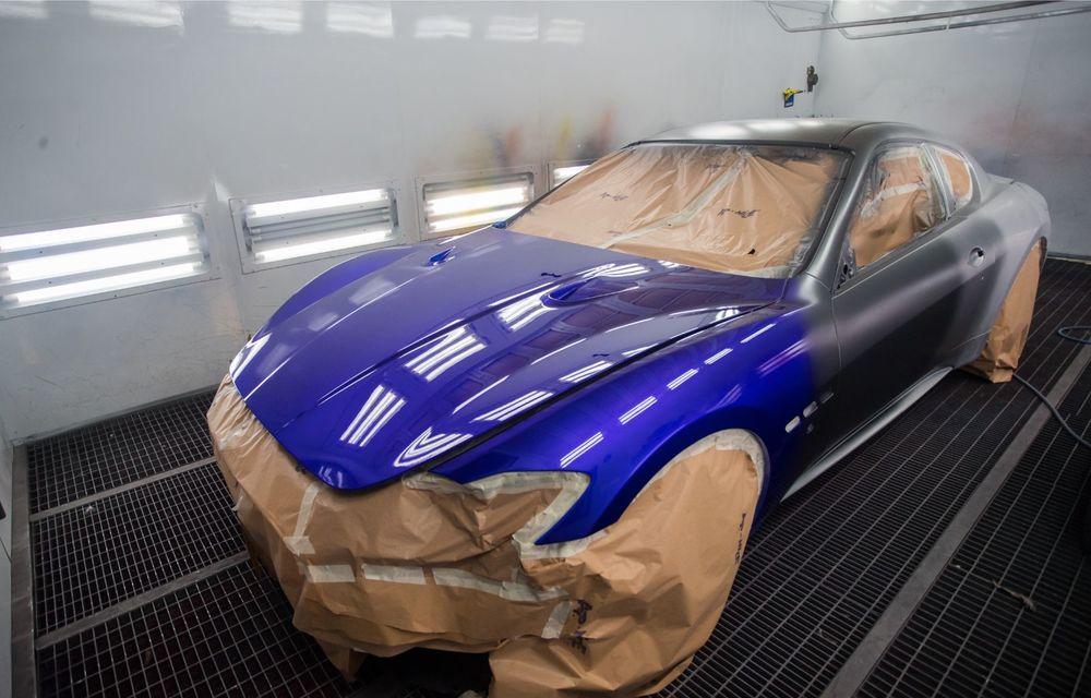 Maserati a încheiat producția actualului GranTurismo: ultimul exemplar se numește Zeda și are o caroserie vopsită în trei nuanțe - Poza 20