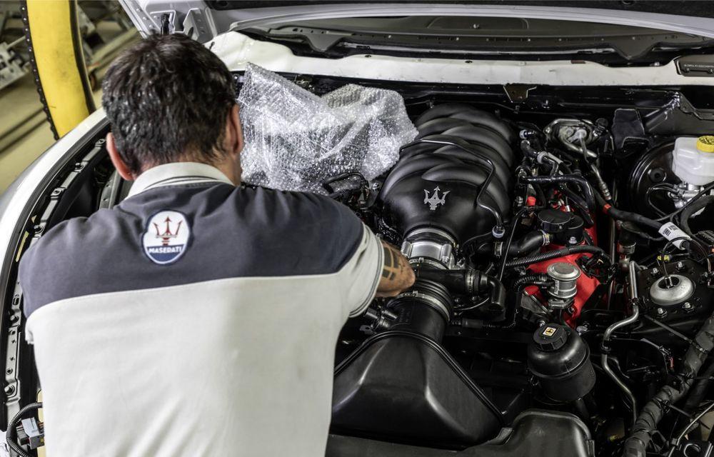 Maserati a încheiat producția actualului GranTurismo: ultimul exemplar se numește Zeda și are o caroserie vopsită în trei nuanțe - Poza 10