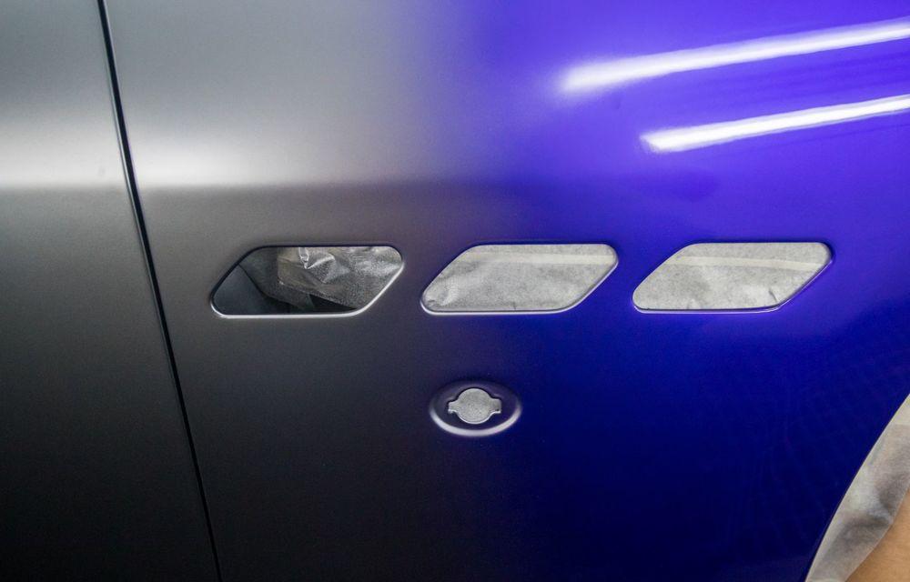Maserati a încheiat producția actualului GranTurismo: ultimul exemplar se numește Zeda și are o caroserie vopsită în trei nuanțe - Poza 19
