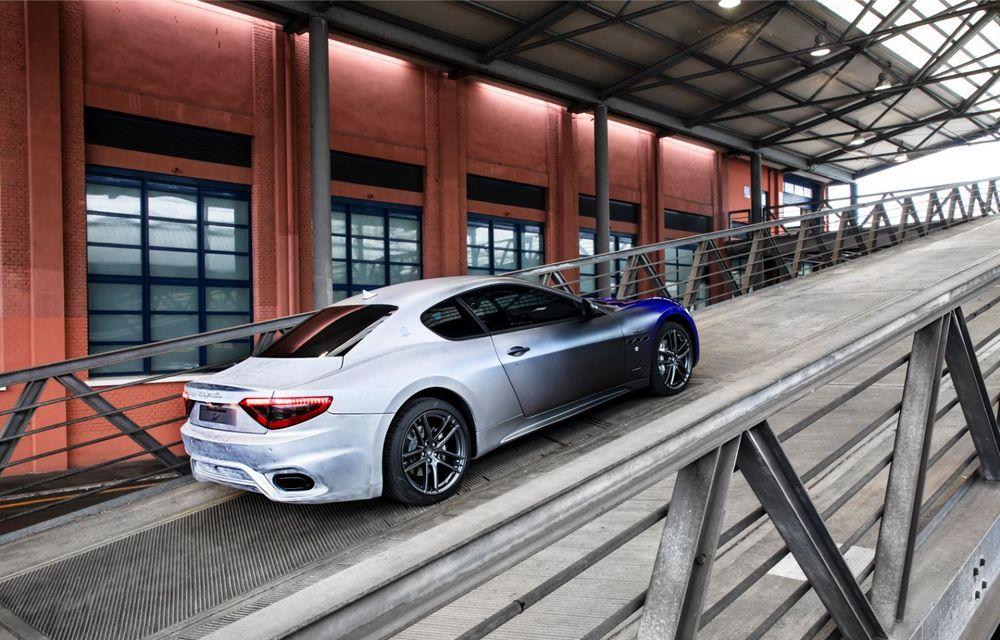 Maserati a încheiat producția actualului GranTurismo: ultimul exemplar se numește Zeda și are o caroserie vopsită în trei nuanțe - Poza 24