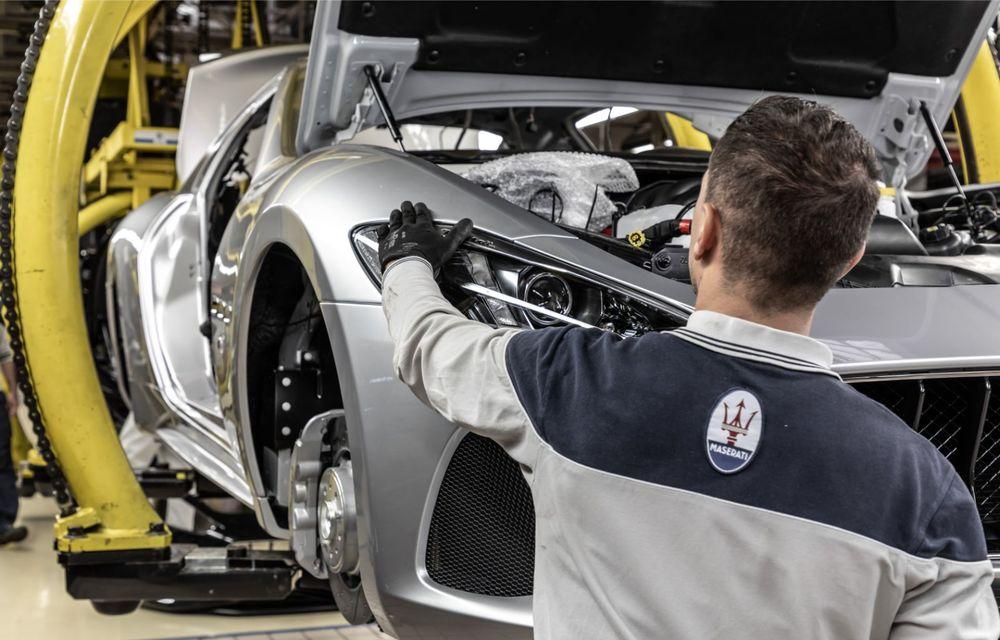 Maserati a încheiat producția actualului GranTurismo: ultimul exemplar se numește Zeda și are o caroserie vopsită în trei nuanțe - Poza 12