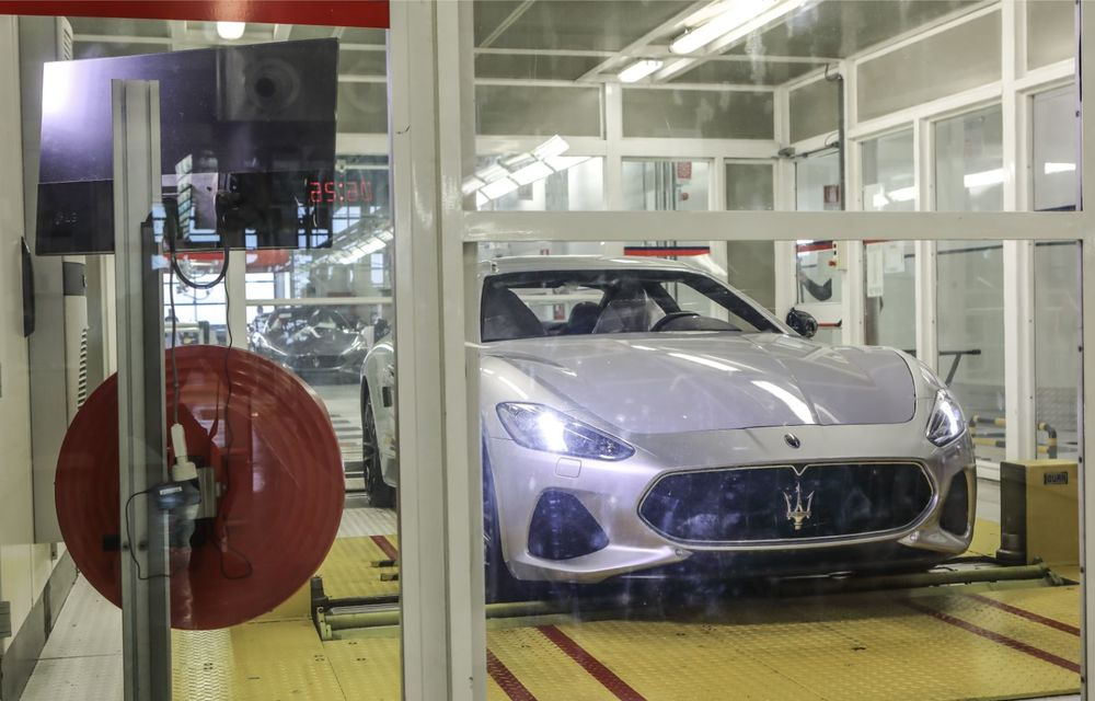 Maserati a încheiat producția actualului GranTurismo: ultimul exemplar se numește Zeda și are o caroserie vopsită în trei nuanțe - Poza 15