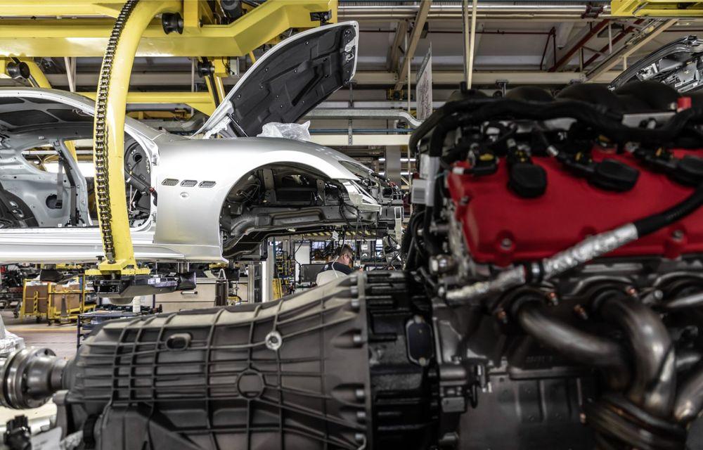 Maserati a încheiat producția actualului GranTurismo: ultimul exemplar se numește Zeda și are o caroserie vopsită în trei nuanțe - Poza 11