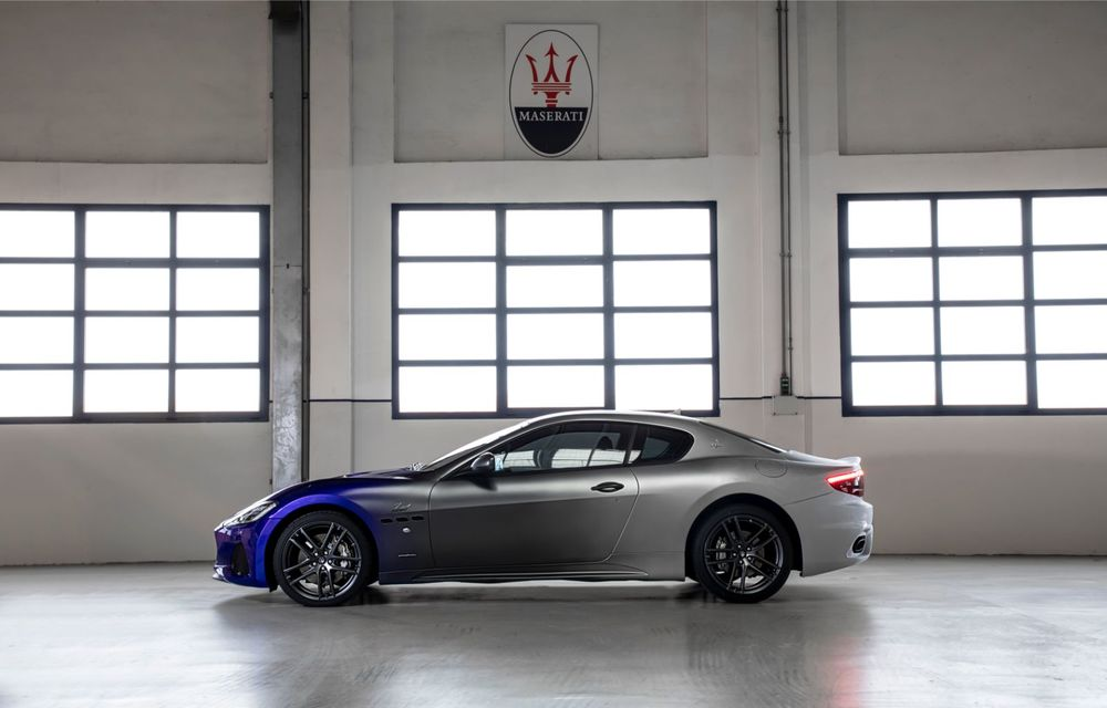 Maserati a încheiat producția actualului GranTurismo: ultimul exemplar se numește Zeda și are o caroserie vopsită în trei nuanțe - Poza 25