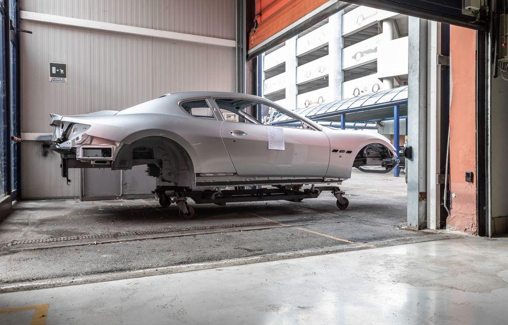 Maserati a încheiat producția actualului GranTurismo: ultimul exemplar se numește Zeda și are o caroserie vopsită în trei nuanțe - Poza 2