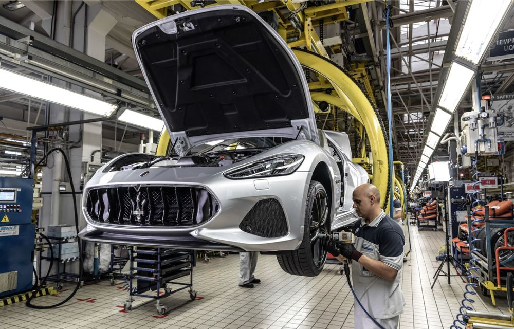 Maserati a încheiat producția actualului GranTurismo: ultimul exemplar se numește Zeda și are o caroserie vopsită în trei nuanțe - Poza 14