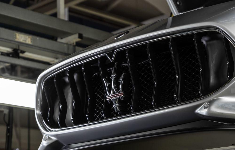 Maserati a încheiat producția actualului GranTurismo: ultimul exemplar se numește Zeda și are o caroserie vopsită în trei nuanțe - Poza 13