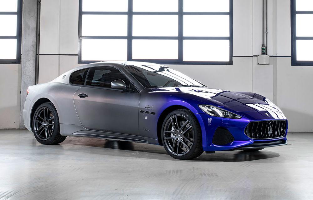 Maserati a încheiat producția actualului GranTurismo: ultimul exemplar se numește Zeda și are o caroserie vopsită în trei nuanțe - Poza 1