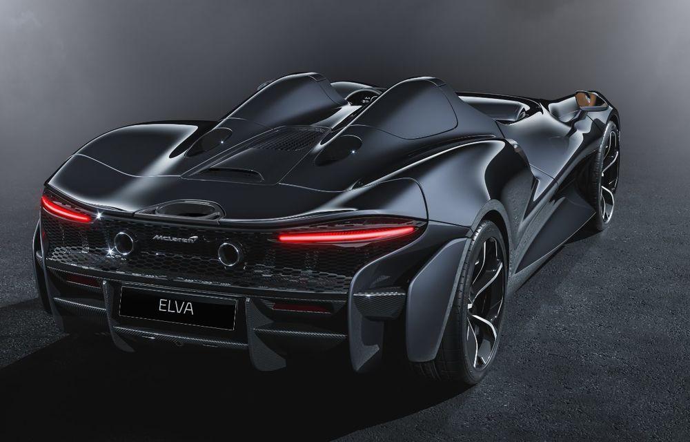 McLaren a prezentat noul hypercar Elva: motor V8 cu 815 cai putere, 0-200 km/h în 6.7 secunde și producție limitată la 399 de unități - Poza 4