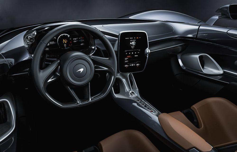 McLaren a prezentat noul hypercar Elva: motor V8 cu 815 cai putere, 0-200 km/h în 6.7 secunde și producție limitată la 399 de unități - Poza 9